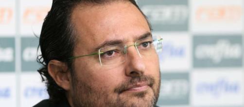 Alexandre Mattos, executivo de futebol do Palmeiras. (Foto Reprodução).