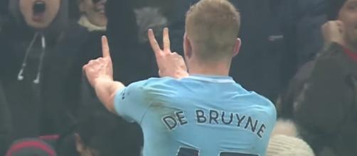 De Bruyne está siendo un jugador de alto nivel