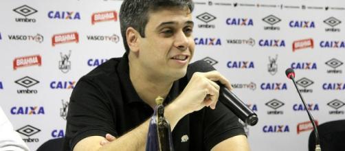 Euriquinho, vice-presidente de futebol do Vasco da Gama