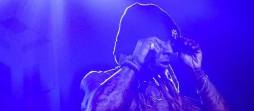 "Lil Wayne at the ""Kloser 2 U Tour"" Image Via Instagram/LilTunechi"