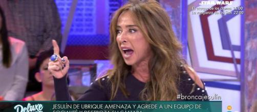 María Patiño explota contra Diego Arrabal para defender a 'Socialité'.