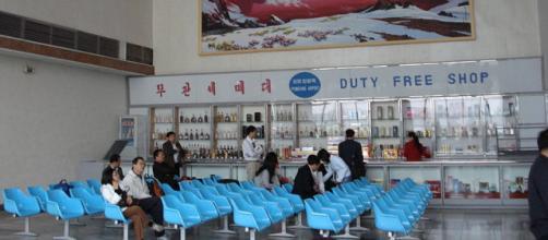 Pyongyang Airport, DPR Korea (Image credit – Kristoferb, Wikimedia Commons)