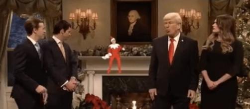 """""""Saturday Night Live"""" on Trump admin, via Twitter"""