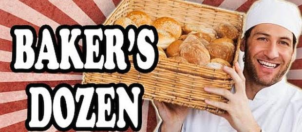 A baker's dozen is different from a regular dozen [Image credit: Today I Found Out/YouTube screenshot]