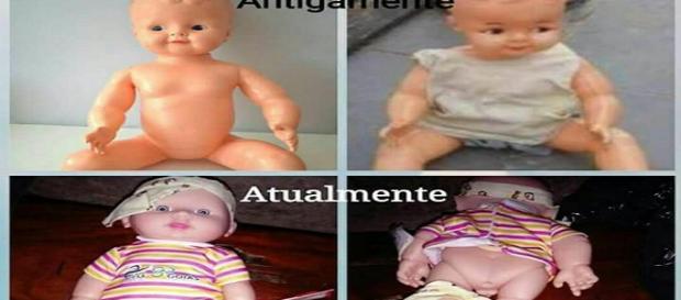 Bonecas com genitálias viralizam na web