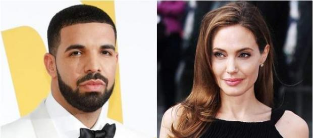 Drake e Angelina Jolie despertam rumores