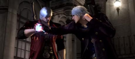 'Devil May Cry 4 Special Edition' game play nero vs dante 2nd fight. - [Image Credit: ninetails625/YouTube screencap]