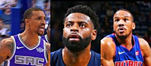 Avery Bradley, Tyreke Evans and George Hill are all trade eligible – [image credit: GD Highlights/ Youtube]