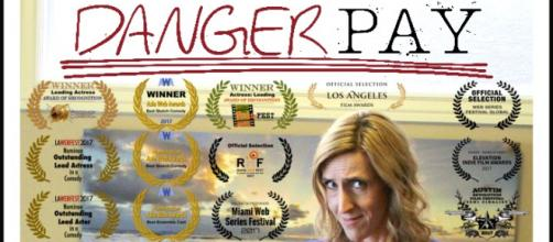 Carolyn Bridget Kennedy is the creator of the 'Danger Pay' web-series in which she also stars. / Image via Edward Ross, used with permission.