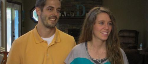 Derrick Dillard and Jill Duggar [Image via TLC/Youtube screencap]