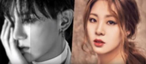 Hyunseung and former Olympic athlete Shin Soo Ji confirm dating news to be true - Image credit - Online Entertainment Channel| YouTube