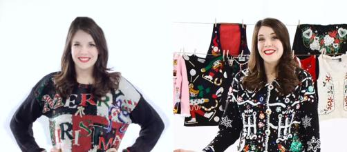 In 2015, Hannah racked up $2,000 worth of ugly Christmas sweaters in her collection. Image Credit: Blasting News