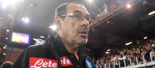 Napoli Maurizio Sarri e il cambio modulo - blogspot.com