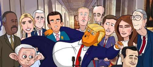 """Our Cartoon President"" on Showtime, via YouTube"