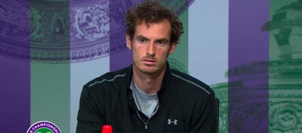 Andy Murray during a press conference at Wimbledon 2016/ Photo: screenshot via Wimbledon channel on YouTube