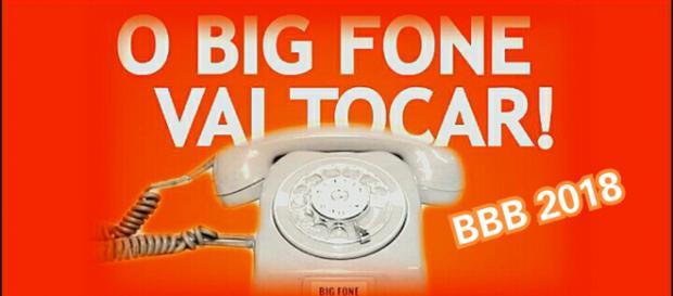 BBB 2018 da Rede Globo sucesso com o 'Big Fone'