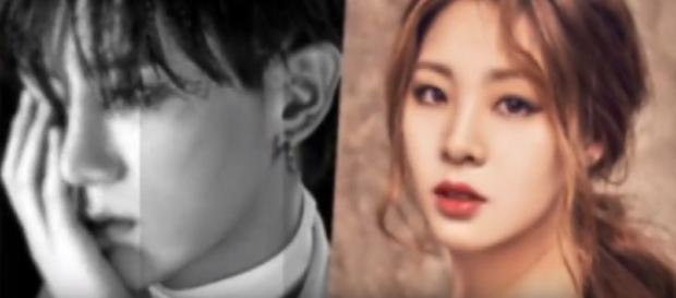 Hyunseung and former Olympic athlete Shin Soo Ji confirm dating news to be true - Image credit - Online Entertainment Channel  YouTube