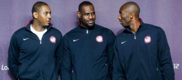 Kobe says he would like to play with LeBron - (Image Credit: Lakers YouTube screencap)