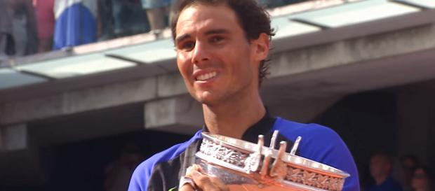 Rafael Nadal with his 10th French Open title/ Photo: screenshot via Roland Garros channel on YouTube