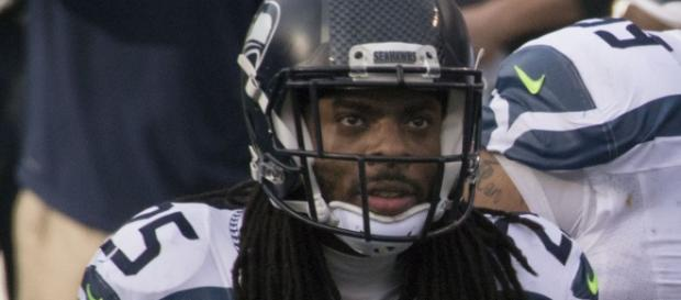 Richard Sherman could count $13.2 million against the salary cap in 2018 (Image Credit: Keith Allison/WikiCommons)