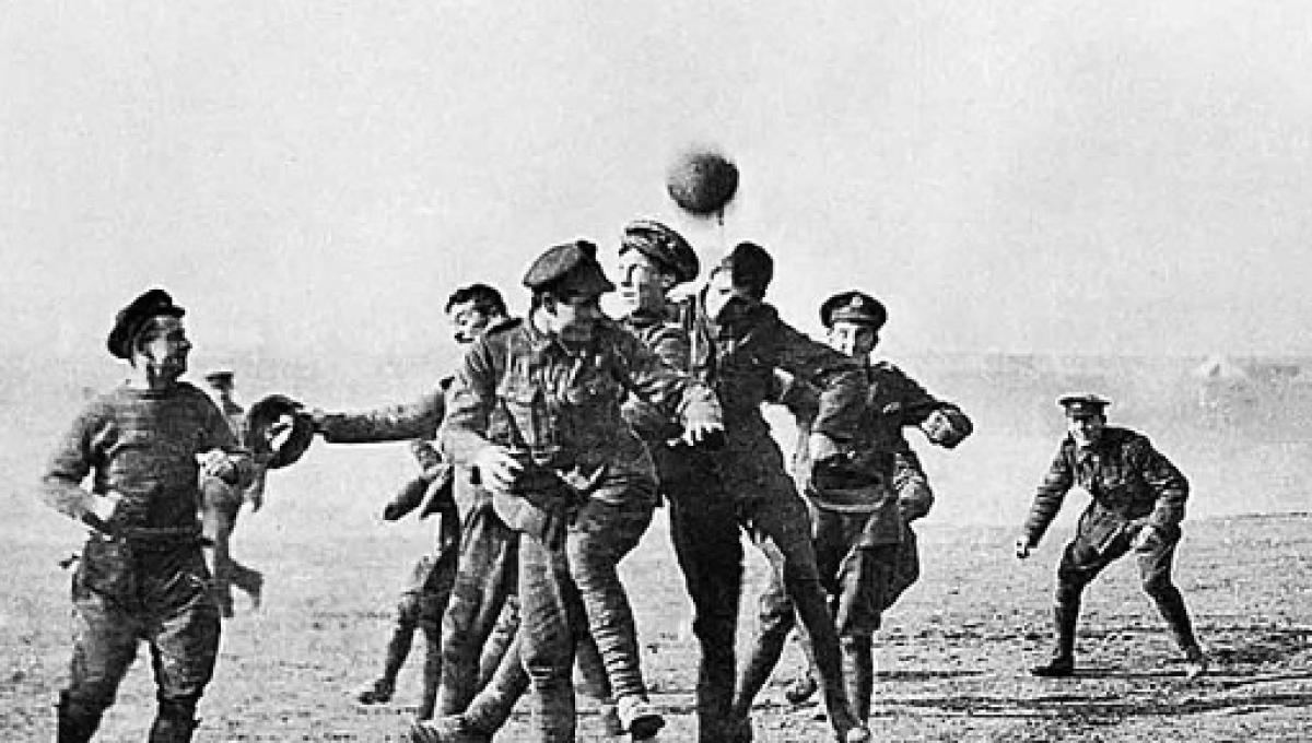 The great Christmas Truce of 1914