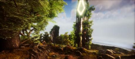 A screenshot from 'ARK: Survival Evolved' - YouTube/ThickFreedom