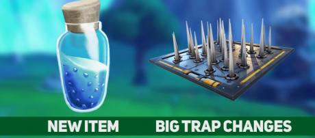 """New """"Fortnite"""" Battle Royale patch adds a new item! Credit: Own work"""