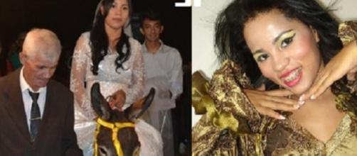 Casada com ricaço, ela ressurge na web e surpreende. (Foto Reprodução).