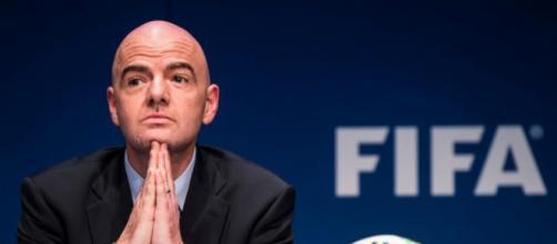 Gianni Infantino: 'Italia ripescata ai Mondiali? Bisogna qualificarsi sul campo'