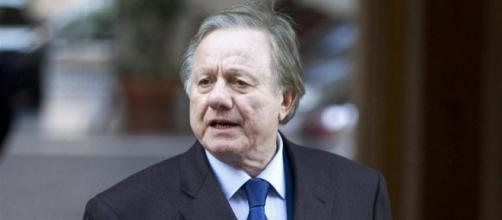 L'ex ministro Altero Matteoli, morto in un incidente stradale all'età di 77 anni