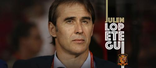 Julen Lopetegui, exfutbolista y entrenador de fúlbol español.