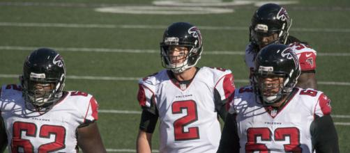 Reigning MVP Matt Ryan leads Falcons to within one game of playoff birth. - [Photo by Keith Allison, Wikimedia Commons]