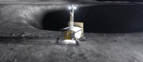 Resource Prospector on the moon [image courtesy of NASA]