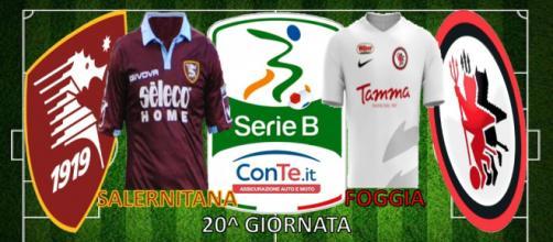 Salernitana-Foggia si sfideranno nella 20^ giornata del campionato di Serie B ConTe.it