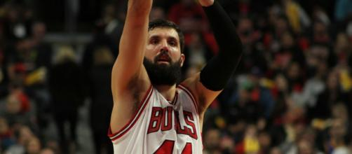 The Lakers might trade for Nikola Mirotic of the Bulls (Image via Rachael/Indiana/WikiCommons)
