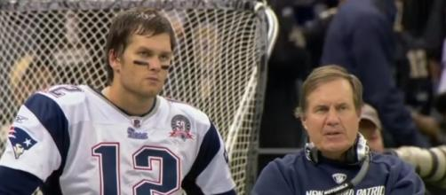 Tom Brady and Bill Belichick headed for a break-up? (Image Credit: NFL World/YouTube screencap)