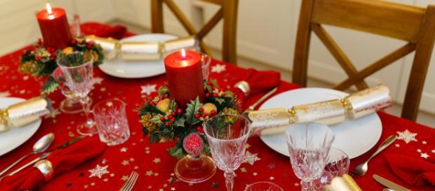 Christmas Dinner Table - Image credit - Petr Kratochvil  publicdomainpictures.net