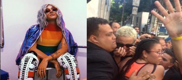 Drag queen é atacada pelo povo em evento em SP