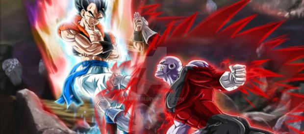 Gogeta Ultra Instinto vs Jiren