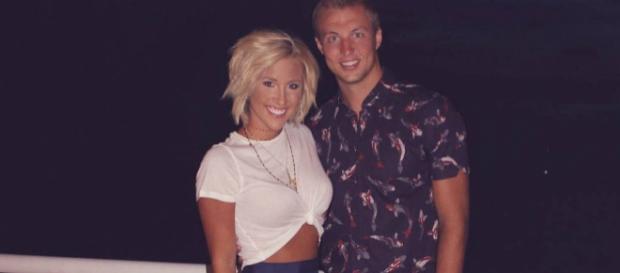Luke Kennard and Savannah Chrisley from social network