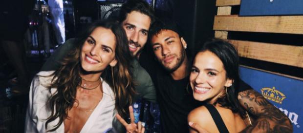 Neymar e Bruna Marquezine reataram o namoro