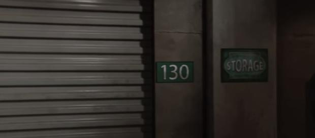'The Young and the Restless' storage facility. [The Young and the Restless / YouTube screencap]