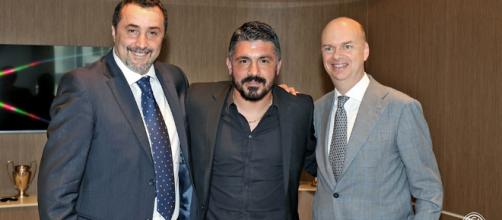 """Gattuso: """"I'm proud to be back home, my task is to instill Milan ... - rossoneriblog.com"""