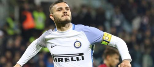 Icardi, autore di una doppietta nel match contro il Cagliari di sabato scorso (Corriere dello Sport)