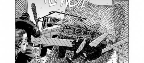 Imagem do quadrinho original da série