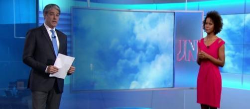 Maju está trabalhando em dois telejornais