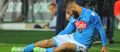 Napoli Juventus infortunio Insigne - ilnapolista.it