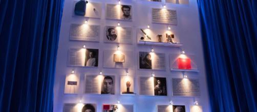 """Photo de l'exposition """"Le Musée des martyrs"""" à la galerie d'art Kunstquartier Bethanien de Berlín, le 29 novembre de 2017 MAXPPP/EFE/Hayoung Jeon"""