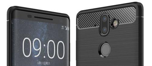 Rendering del Nokia 9 trapelato dalle custodie apparse su Amazon.