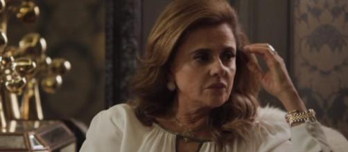 Sophia cairá em própria armação. (Foto: divulgação TV Globo)